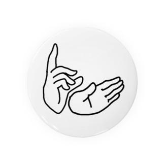 平和のハンドサイン Badges