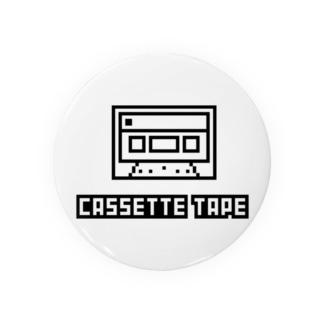 カセットテープ Badges