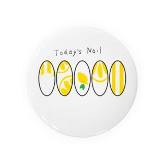 Today's Nail lemon Badges