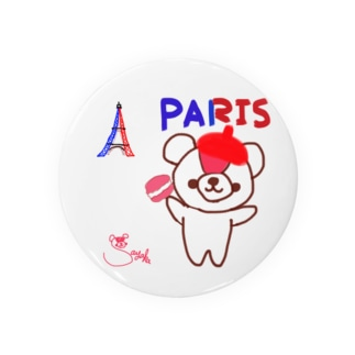 パリとおせんちゃん Badges