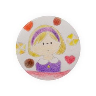 バレンタインの女の子 Badges