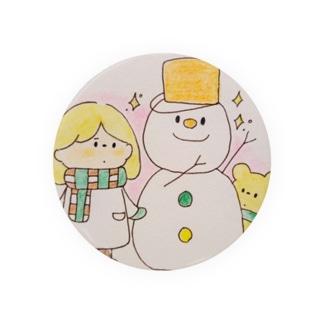 雪の日の女の子たち Badges