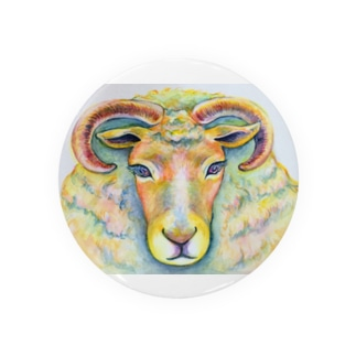 She is sheep. Badges