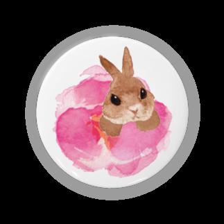 Uchikaのおやゆびうさぎ(花) Badges
