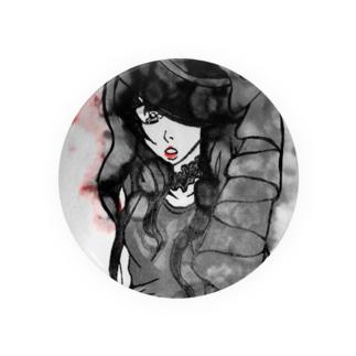 土曜日の魔女(ヘビー加工) Badges