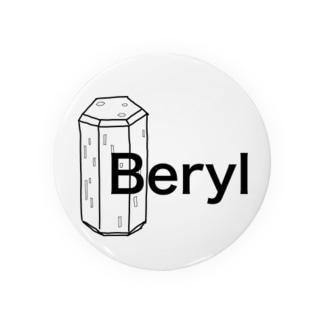 ベリルの結晶原石の晶癖 Badges