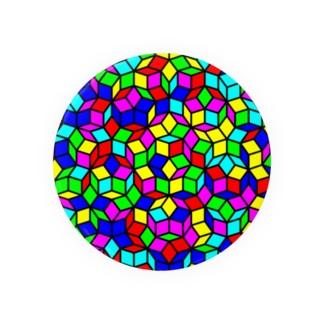 ペンローズモザイク(カラー) Badges