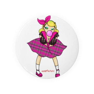 ロカビリーガールⅡ【pink】 Badges