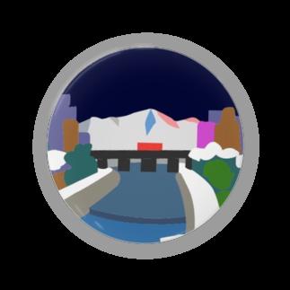 7センチの鴨  川 (夜) Badges