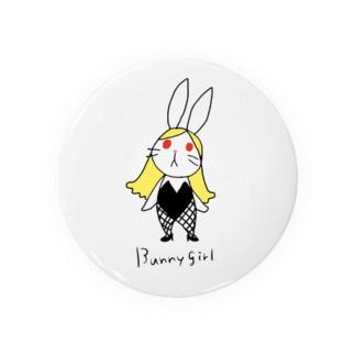 バニーガール 01 Badges