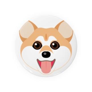 かわいい柴犬 Badges