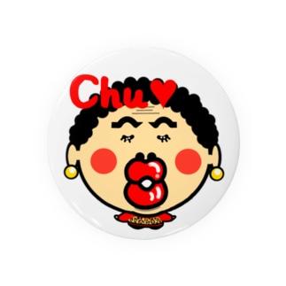 関西のおばたん Chu Badges