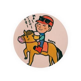 お馬さんと呑むよ Badges