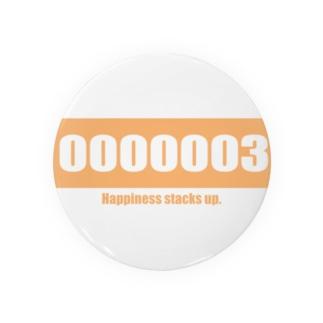 思いついた言葉集めましたのHappiness stacks up.003 Badges