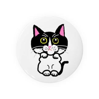招き猫3 Badges