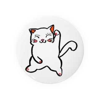 招福猫『福にゃん』福よ来い来い招き猫 Badges
