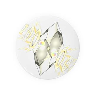 フェイクディガー「光の白い宝石」 Badges