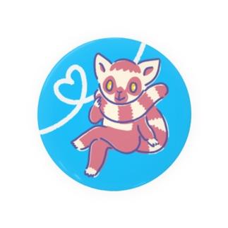 ワオキツネザル Badges