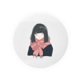 マフラー子 Badges