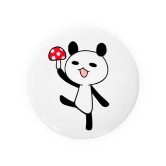 きのこパンダ Badges