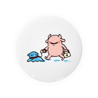 GREEYちゃんとGUMMYちゃん Badges