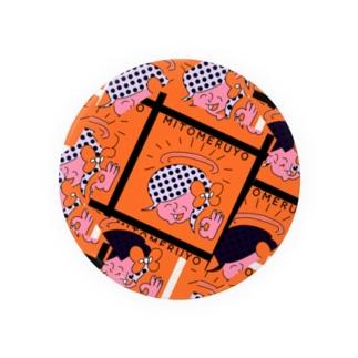 MITOMERUYO pattern Badges