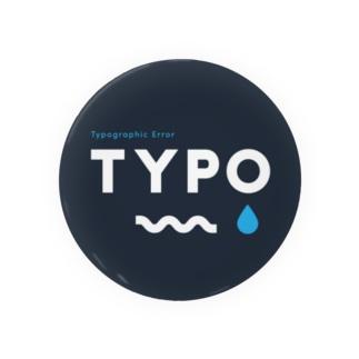 TYPO CIRCLE Badges