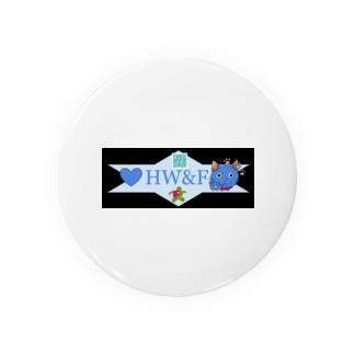 HW&Fの謎QRコード付きデザイン Badges