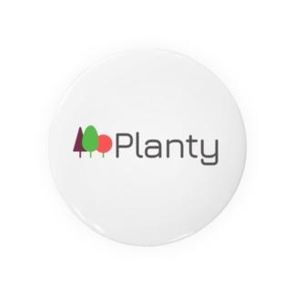 """Planty グッズ - 世界を向上させる大麻メディア """"プランティ""""のロゴTシャツ Badges"""