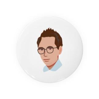メガネのおじさん Badges