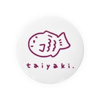 たい焼きグッズ(あずき) Badges