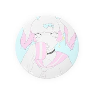 可愛い女の子 Badges