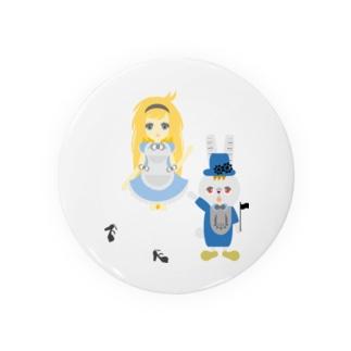 アリス&ホワイトラビット Badges