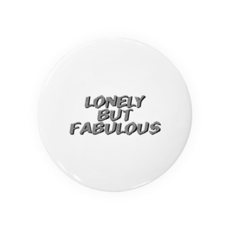 LONELY BUT FABULOUS vl2 Badges