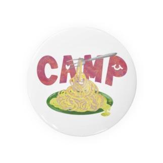 Campでパスタを食べたいな。 Badges