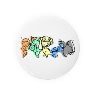 キーチくんと恐竜のパレード Badges
