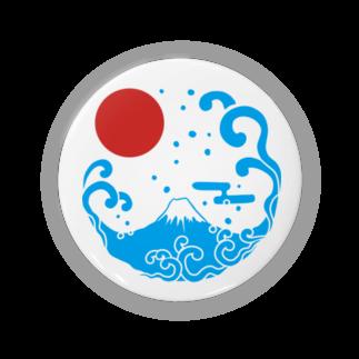 ジャパニーズスタンダードの富士山・波 Badges