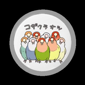 インコグッズ屋のコザクラオシ Badges