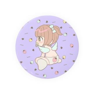 いちごぱんつちゃん Badges