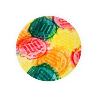100カラフル Badges