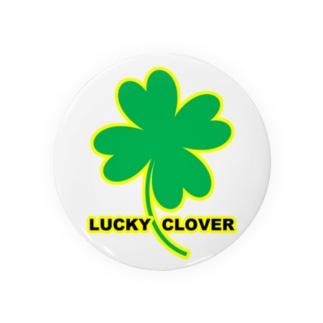 LUCKY CLOVER Badges