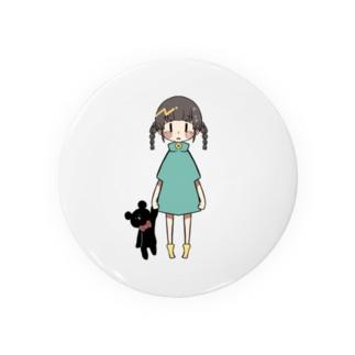 女の子 Badges