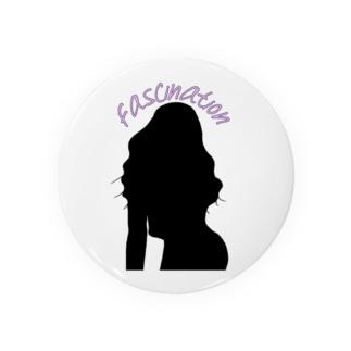 Fascination girl Badges