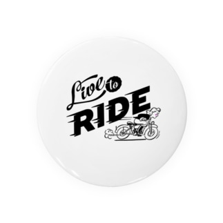 LIVE TO RIDE Badges