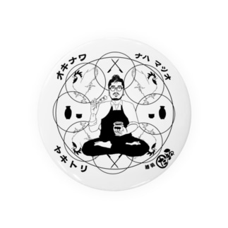 サイコ刈り男 Badges