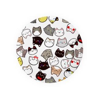 ネコのかたまり Badges