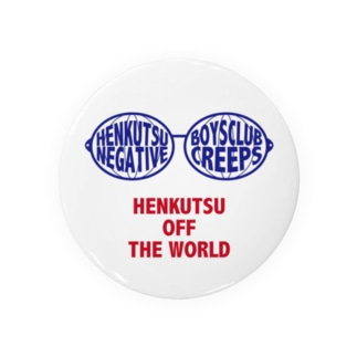 HENKUTSU OFF THE WORLD Badges