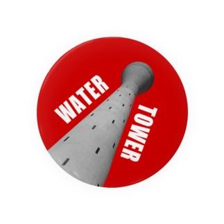 日本給水党員バッジ(団地の給水塔) Badges
