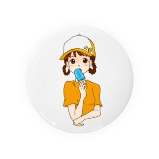 夏のアイス女子 Badges