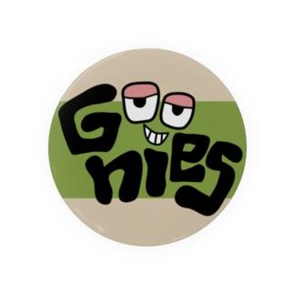 Goonies 丸カーキ75mm Badges